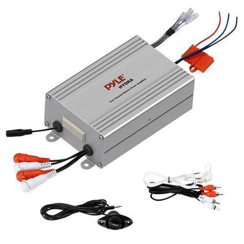4 Channel Waterproof MP3 / Ipod Marine Power Amplifier