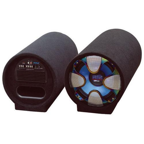 8'' 250 Watt Amplified Subwoofer Tube