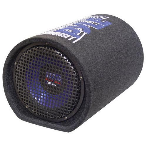 8'' 400 Watt Carpeted Subwoofer Tube Enclosure System
