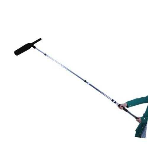 Microphone Shotgun Fishing Boom Pole, Telescoping / Extending Mic Arm Mount