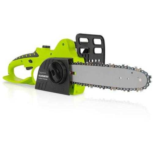 18V Cordless Chainsaw - Electric Home Garden Chain-Saw Cutter with Rechargeable Battery(12 -inch)