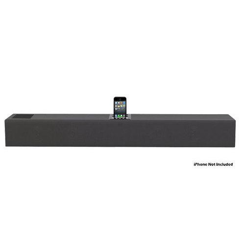 iPhone/iPod 2.1 Soundbar Docking System with Aux-In and Video Output
