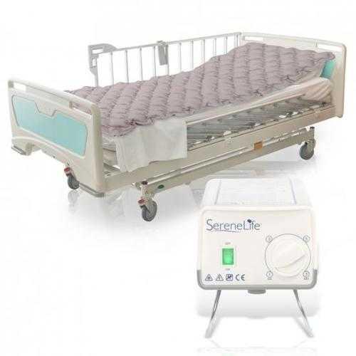 Hospital Bed Air Mattress - Bubble Pad Mattress with Electric Air Pump