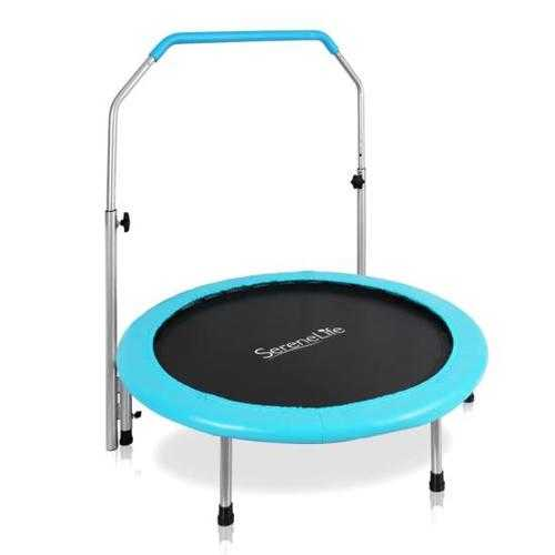 Spring-less Sports Jumping Fitness Trampoline, Adult Size