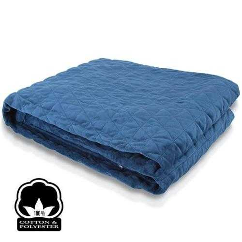 Gravity Weighted Blanket for Better Sleep, Anti- Anxiety, Stress and Insomnia