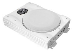 8'' 1000 Watts Low-Profile Super Slim Active Amplified Marine/Waterproof Subwoofer System