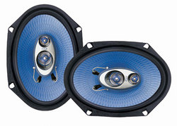 6'' x 8'' 360 Watt Three-Way Speakers