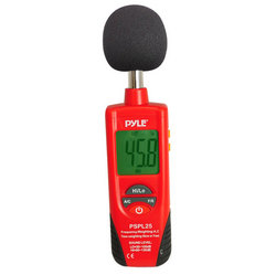 Category: Dropship Gadgets, SKU #PSPL25, Title: Sound Level Meter with A and C Frequency Weighting
