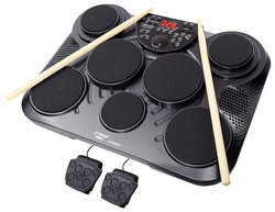 Category: Dropship Musical Instruments, SKU #PTED01, Title: Electronic Table Digital Drum Kit Top w/ 7 Pad Digital Drum Kit