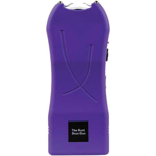 Rechargeable Runt 80,000,000 voltstun gun withflashlight and wrist strap disable pin Purple