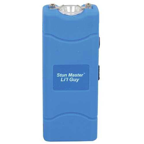 Stun Master Lil Guy 60,000,000 volts Blue Stun Gun W/flashlight and Nylon Holster