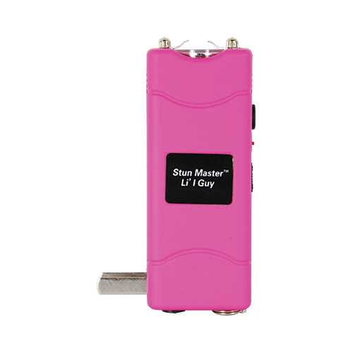 Stun Master Lil Guy 60,000,000 volts Stun Gun W/flashlight and Nylon Holster Pink
