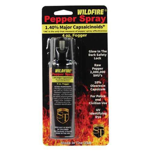 WildFire 1.4% MC 4 oz pepper spray fogger