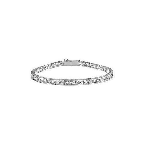 Diamond Tennis Bracelet : 14K White Gold – 3.50 CT Diamonds