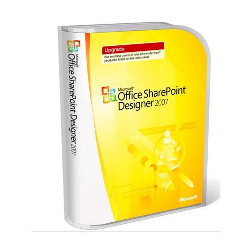Microsoft Office SharePoint Designer 2007 - Upgrade