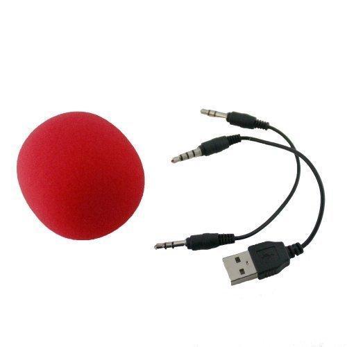 Blu Diamond Rechargeable/Portable Speaker - Red