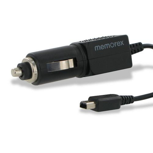 Memorex Car Charger Power Adapter for Nintendo Dsi 2DS 2DSXL 3DS 3DSXL