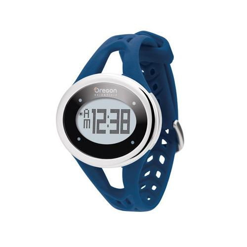 Oregon Scientific SE338/BXTDB Gaiam ECG Touch Watch, Navy Blue