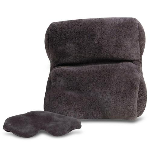 Travelon Ultra Fleece Travel Pillow & Eye Mask Set