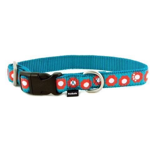 PetSafe Fido Finery Quick Snap Collar (Small, Teal My Heart)
