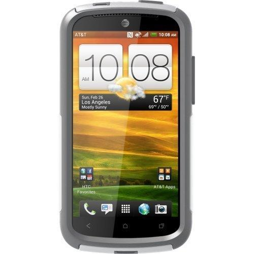 OtterBox Commuter Series Case for HTC One VX - White/Gray