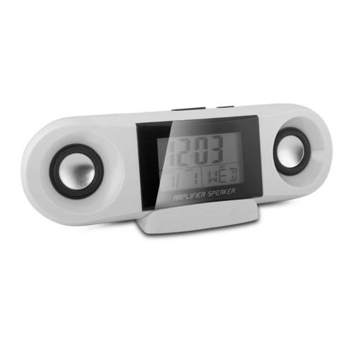 iPod or MP3 Amplifier Speaker with Clock