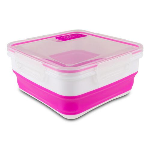 Cool Gear Expandable Food Storage (Pink/White), 1959