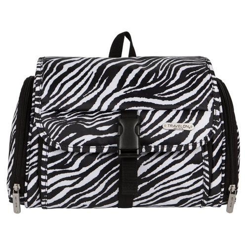 Travelon Hanging Toiletry Kit - Zebra