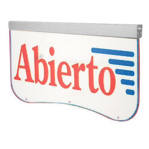 Actiontek Acrylic LED Sign - Abierto