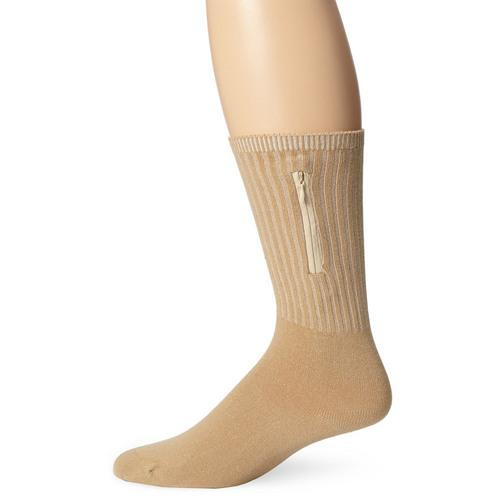 Travelon Security Socks - Tan (Medium)