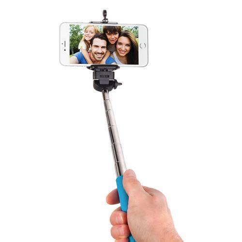 Smart Gear 42 Extendable Monopod Selfie Stick, Blue
