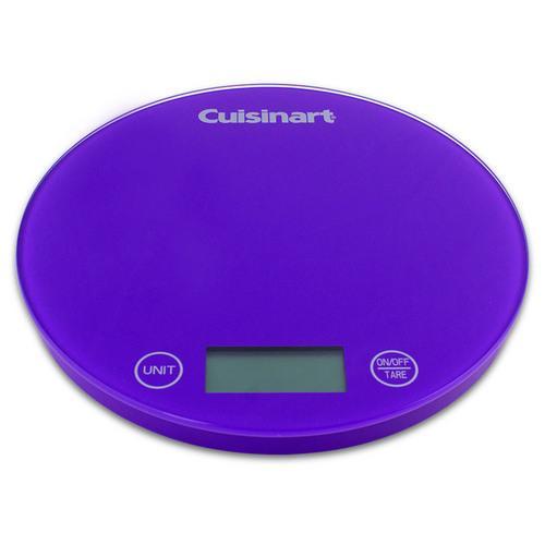 Cuisinart DigiPad Digital Kitchen Scale, Purple