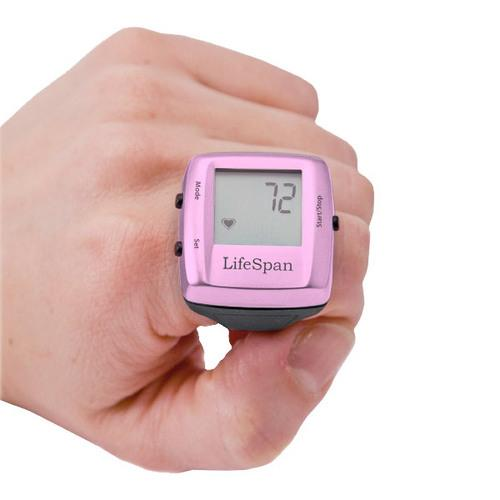 LifeSpan My Beat Heart Rate Ring, Pink