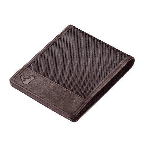 Lewis N Clark Ballistic RFID Bifold Wallet, Chocolate