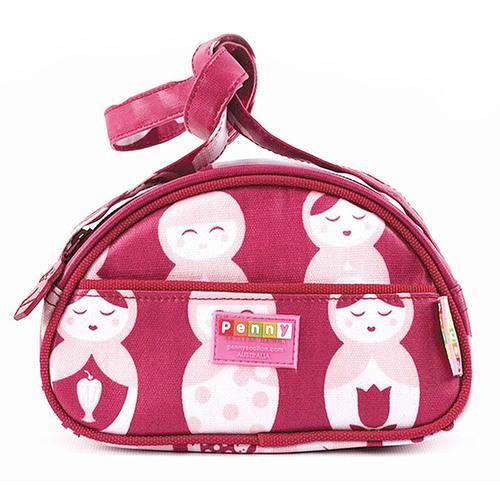 "Penny Scallan Girl""s Purse/Handbag - Pink Russian Doll"