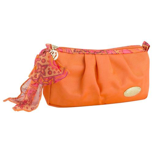 Jacki Design Summer Bliss Compact Cosmetic Bag, Orange