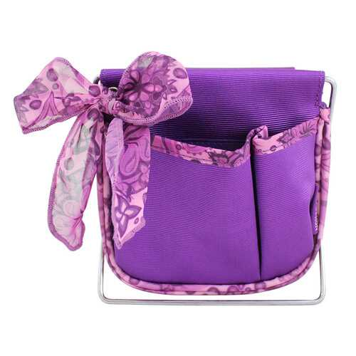 Jacki Design Summer Bliss Small Accessory Organizer, Purple