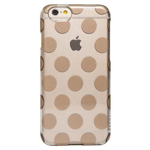 Agent18 SlimShield Case for iPhone 6 Plus & 6s Plus - Clear/Gold Dots