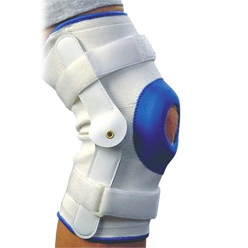 Deluxe Compression Knee Support With Hinge - Small