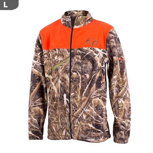 "Realtree Men""s Aspen Max-5 Camo & Blaze Jacket, Large"