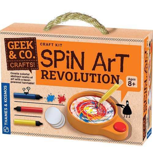 Geek & Co. Craft Spin Art Revolution