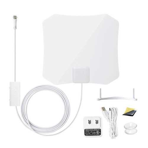 ANTOP Digital Indoor HDTV Antenna 30-45 Mile Range w/Smartpass Amplifier