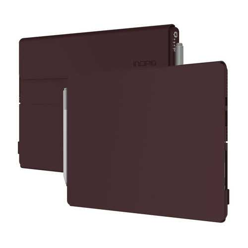 Incipio Faraday Leather Case for Surface Pro & Surface Pro 4 Burgundy, Open Box