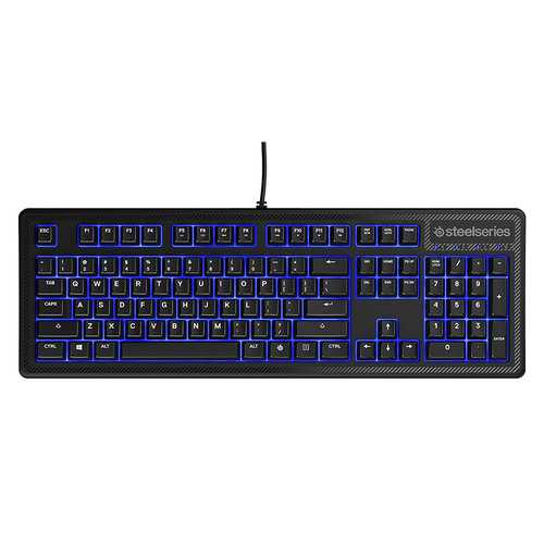 SteelSeries Apex 100 Gaming Keyboard - Blue LED (Refurbished)