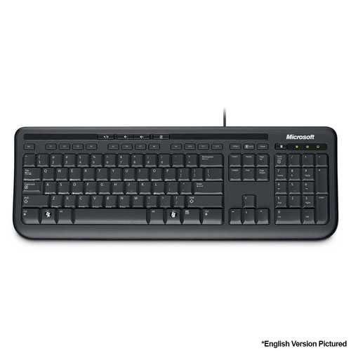 Microsoft Wired 600 Keyboard - Spanish Layout