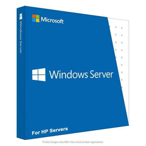 HP Microsoft Windows Server 2016 Standard Additional License 4 Core (No Returns)