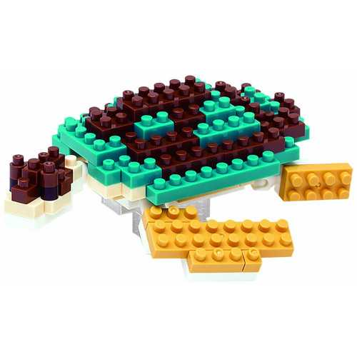 Nanoblock Sea Turtle Building Kit 3D Puzzle