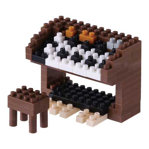 Nanoblock Electric Organ Building Kit 3D Puzzle
