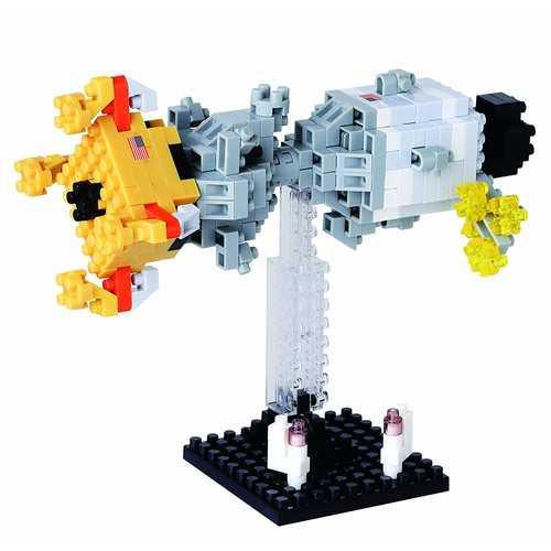 Nanoblock Lunar Landing Building Kit 3D Puzzle