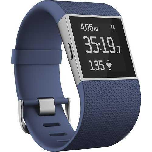 Fitbit Surge Fitness Watch (Large Blue) FB501BUL - Refurbished